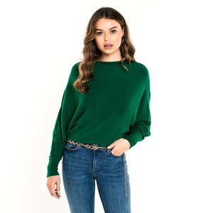Bat Green  - Knit