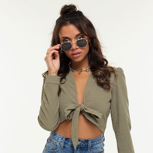 Riley Square Black - Sunglasses