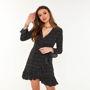 ZWART-OMSLAG-JURKJE-STIPPEN-AMELIE-BLACK-DRESS-SF2