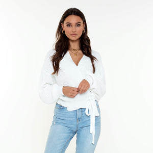 WITTE-OMSLAG-TOP-DANITA-CARDIGAN-WHITE-SF2