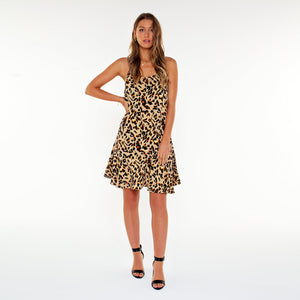 Nya Leopard - Slip Dress
