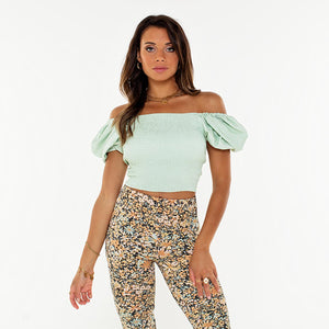 Cassie Green - Crop Top