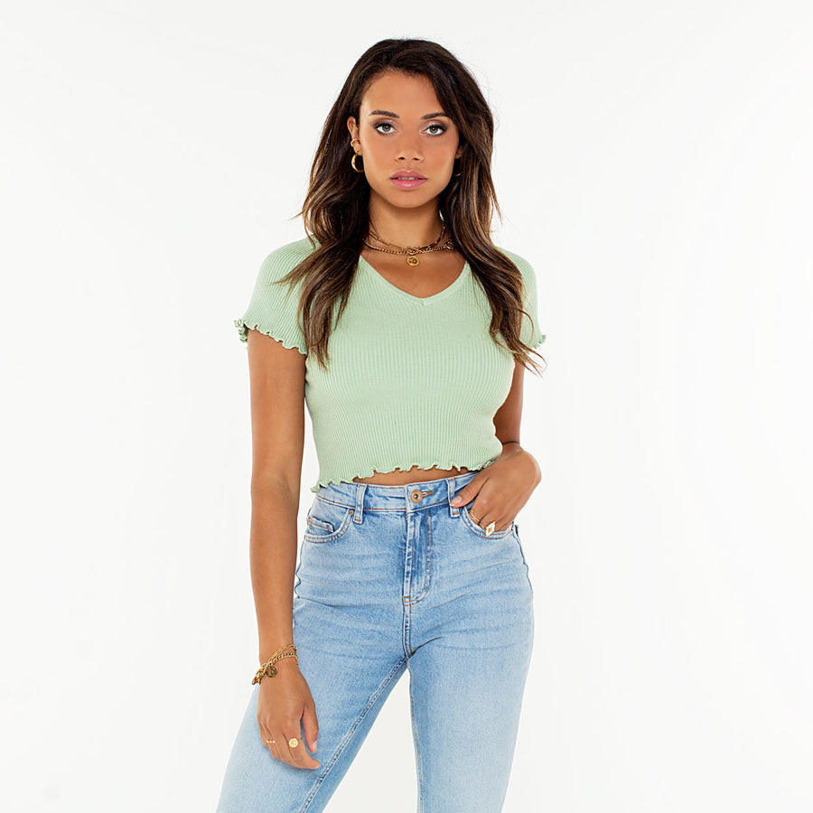 Alessia Mint - Crop Top