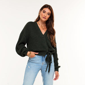 Danita Army Green - Cardigan