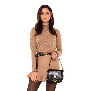 BRUINE-ROK-RUCHES-JUNE-BROWN-SKIRT-SF1