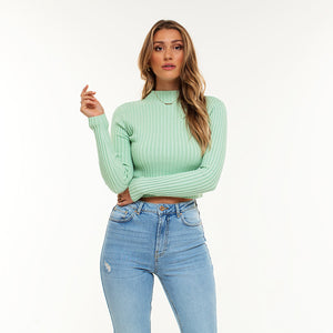 Noë Mint - Crop Top