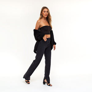 Sharina Black - Cardigan