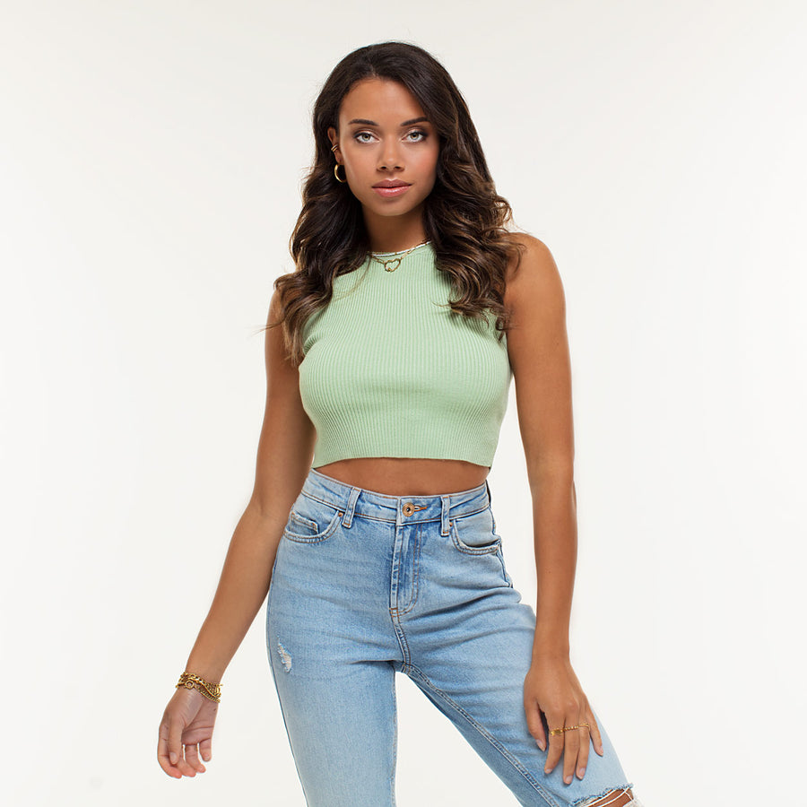 Elieke Mint - Crop Top
