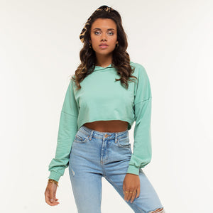Danila Mint - Cropped Sweater
