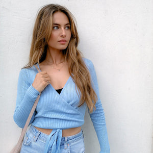 Kaeli Blue - Crop Top