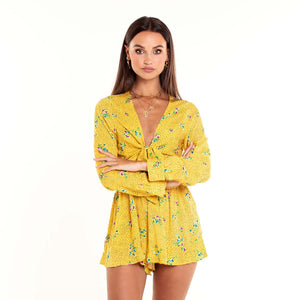 Gracie Yellow - Playsuit