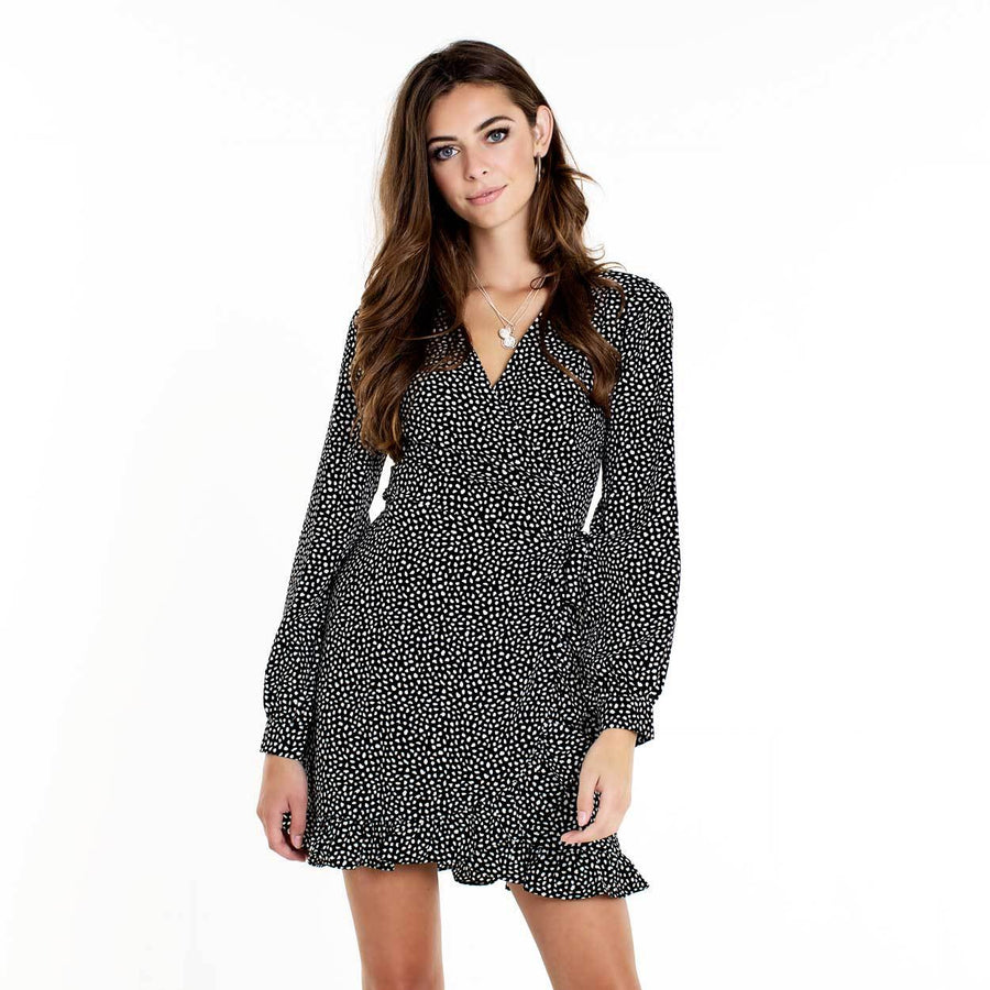 AUDREY-BLACK-DOTTED-DRESS-PF1