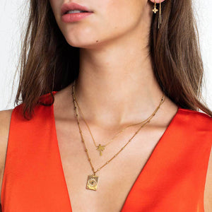 Palmtree Gold - Necklace