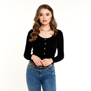 Dicte Black - Top