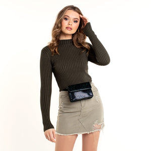 Arlean Army Green - Skirt