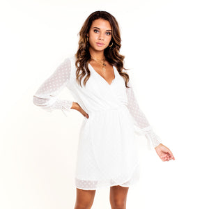 Ruffle White - Dress