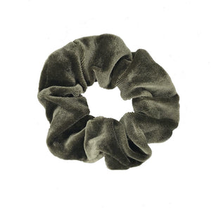 LENA-SCRUNCHIE-ARMY-GREEN-ACCESSOIRES