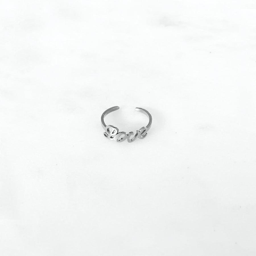 Love Silver - Ring