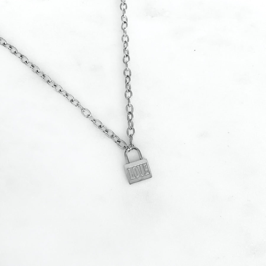 Love Chain Silver - Necklace