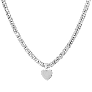 NYDIA-SILVER-NECKLACE-HART-CHAIN-SCHAKEL-ZILVER-PF1