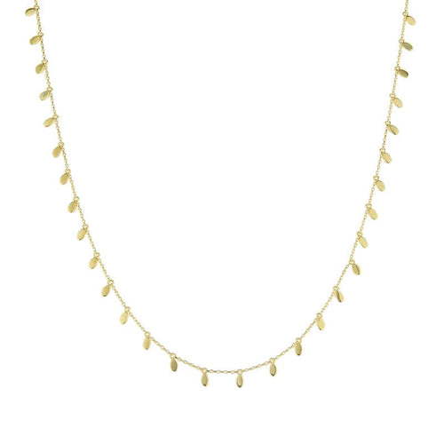 Gaby Drops Gold - Necklace