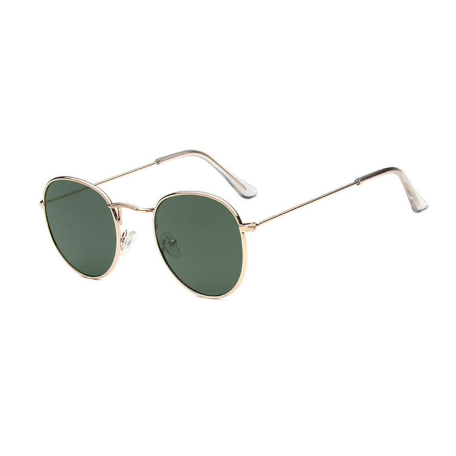 Finley Round Green - Sunglasses