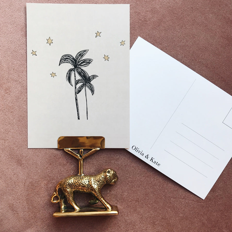 Palmtree Single - Postcard