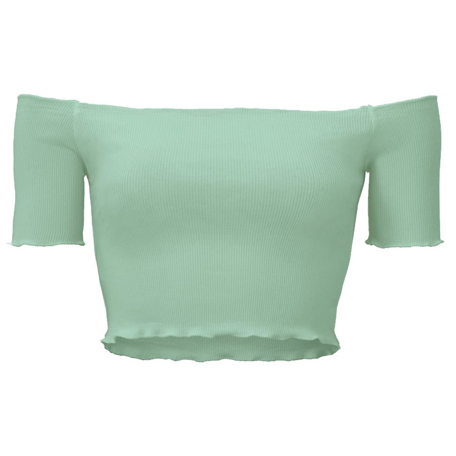 Shirley Mint - Crop Top