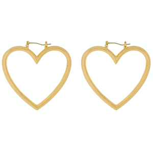 CM-CLUBMANHATTAN-EARRINGS-GOLD-HEARTS-HOOPS-PF