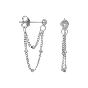 TWO-CHAIN-SILVER-EARRINGS-JEWELRY-ES-OLIVIA-KATE-PF1