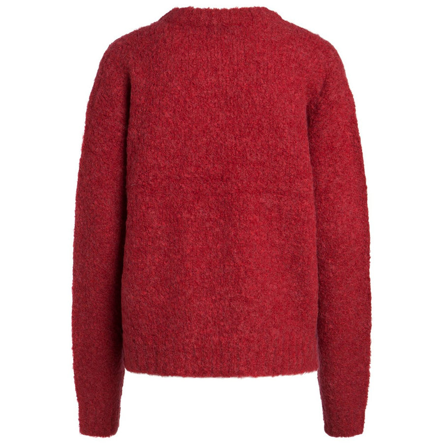 PIECES-FORTUNA-RED-KNIT-PF