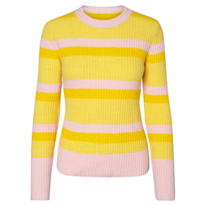 PIECES-BELKA-YELLOW-KNIT-PF