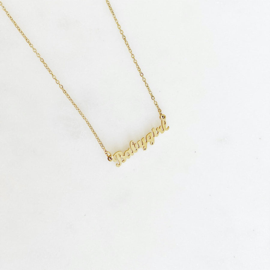 Baby Girl Golden - Necklace