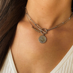 Coin Chain Silver - Necklace