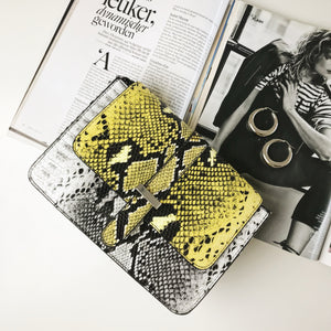 PIECES-CALINA-YELLOW-BAG-SF