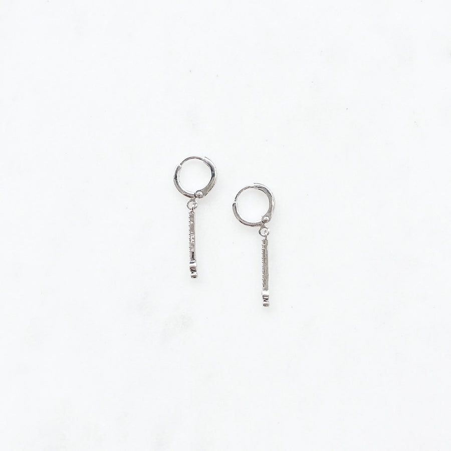 Gia Silver - Earrings