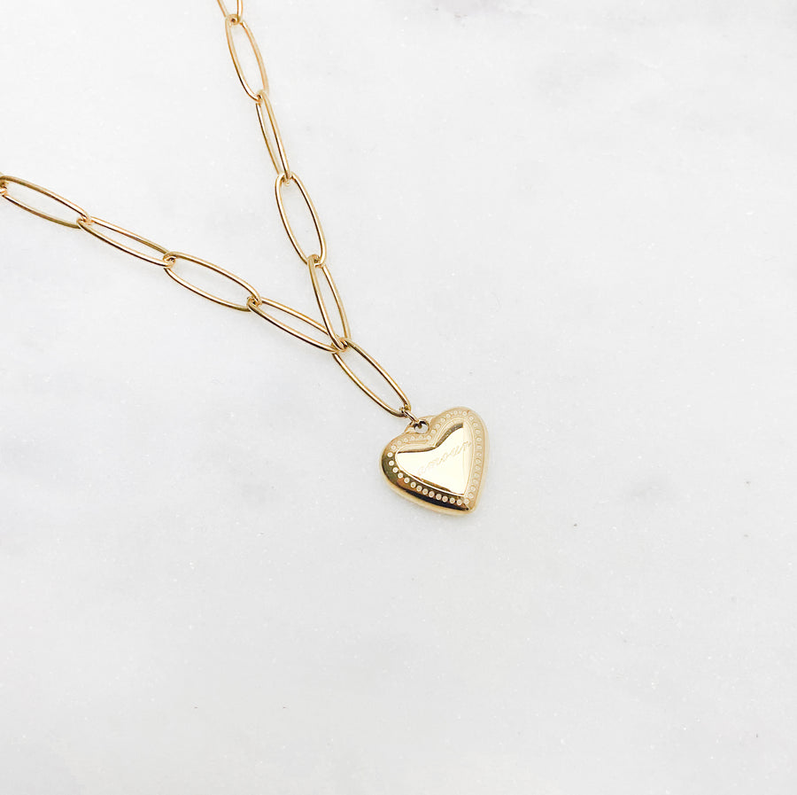 Amour Golden - Necklace