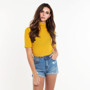 PIECES-OLIVIA-YELLOW-TOP-SF