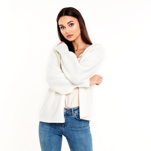 Belle White - Cardigan