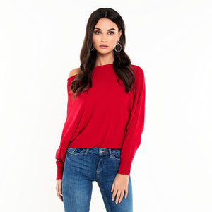 Bat Red - Knit