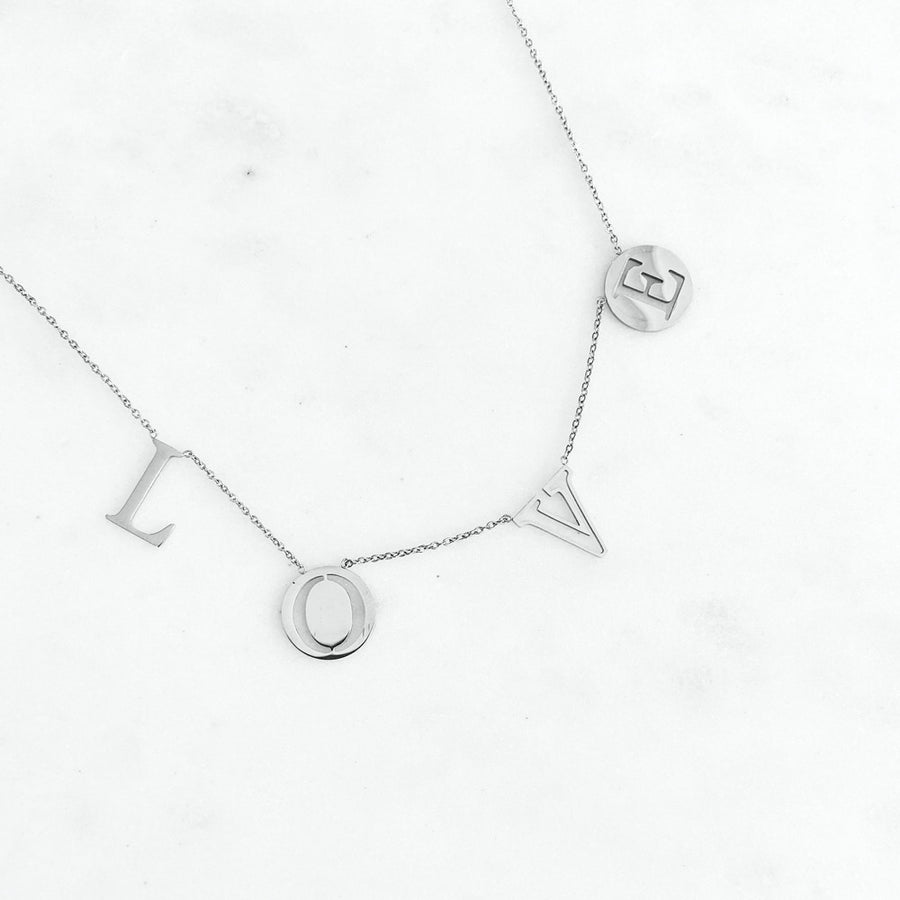 Love Letter Silver - Necklace