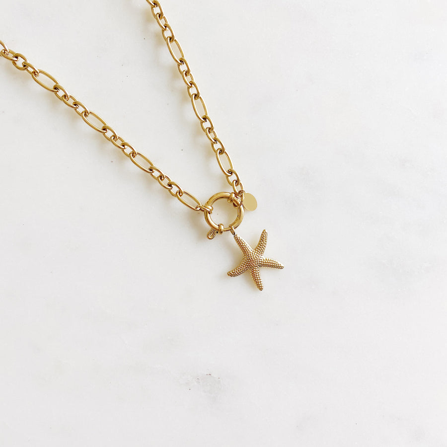 Starfish Golden - Necklace