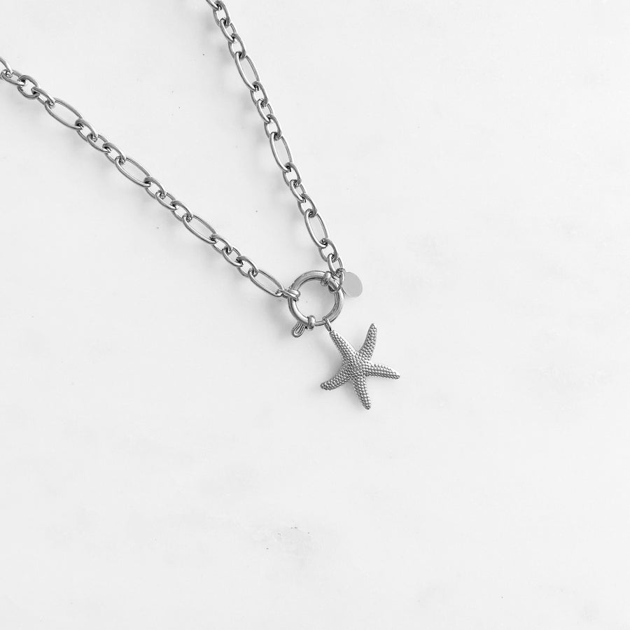 Starfish Silver - Necklace
