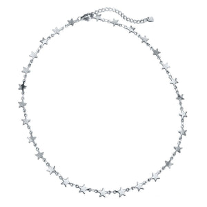 KINA-SILVER-NECKLACE-STERRETJES-KETTING-ZILVER-OLIVIA-KATE-PF1
