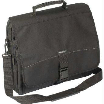 Targus Tcm004us 15.6in Messenger - Notebook Carrying Case - Polyester - Black