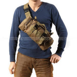 Tactical Waist Pack Shoulder Crossbody Bag -  Waterproof