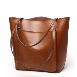 Women's Luxury Leather Tote Bag