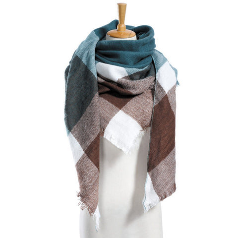Cashmere Blend Winter Scarf for Her