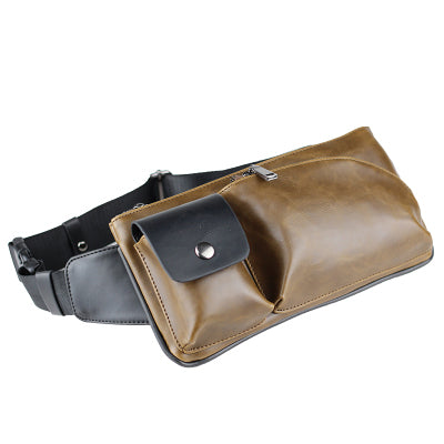 Crazy Horse PU Leather Small CrossBody Bag