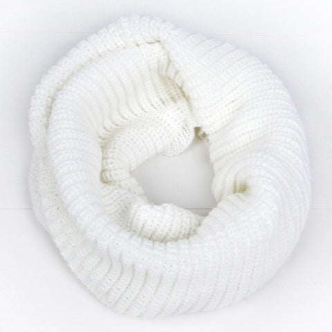 Women Knitted Ring Scarf
